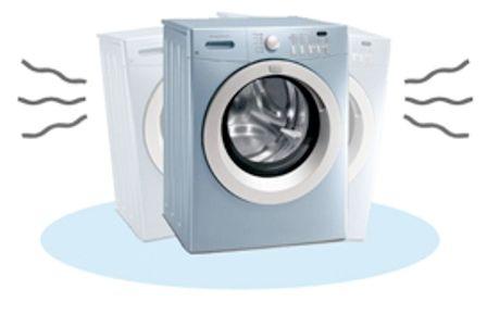علت لرزش و تکان خوردن ماشین لباسشویی