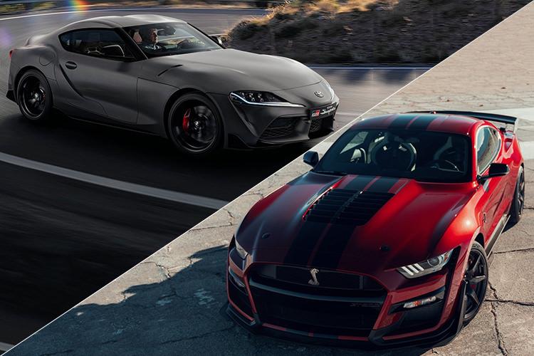 حراج میلیون دلاری فورد موستانگ شلبی GT500 و تویوتا سوپرا مدل ۲۰۲۰