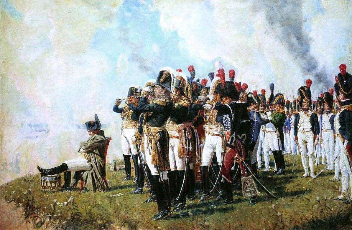 ناپلئون در جنگ واترلو