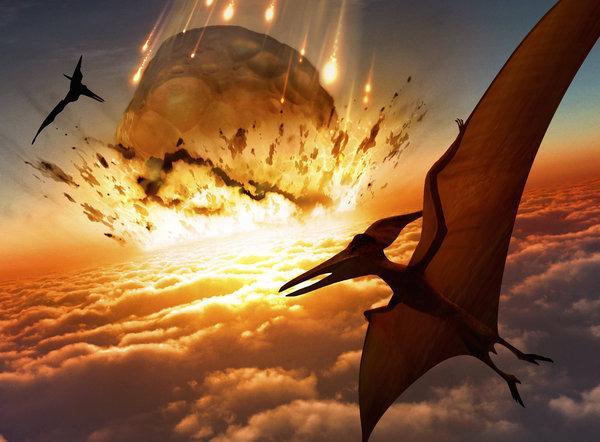 نظریه انقراض دایناسورها بر اثر سقوط سیارک