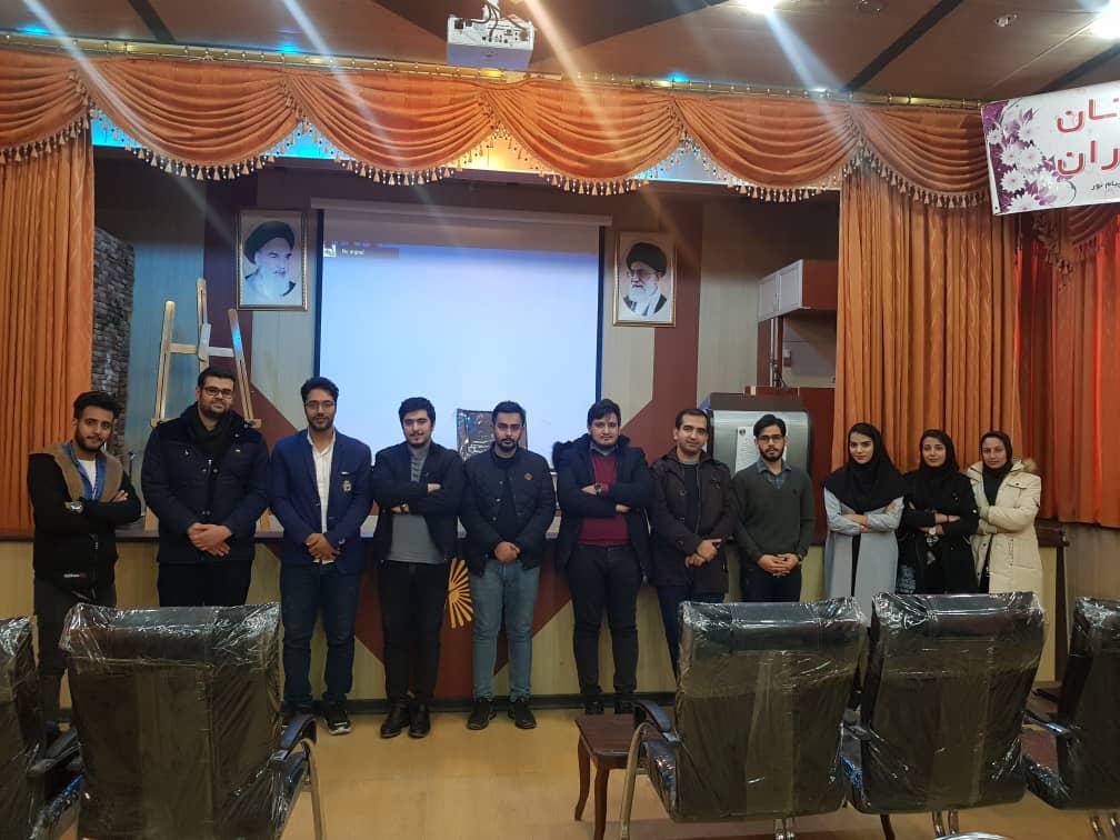 پاتوق 1 شهرضا در دانشگاه پیام نور شهرضا برگزار شد
