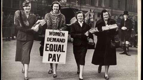 کار برابر، دستمزد نابرابر