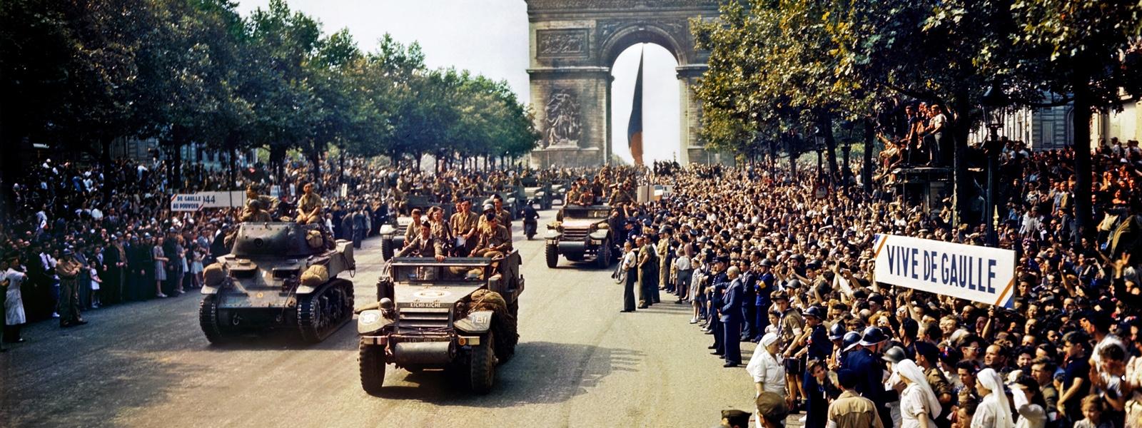 استقبال از سربازان پس از جنگ