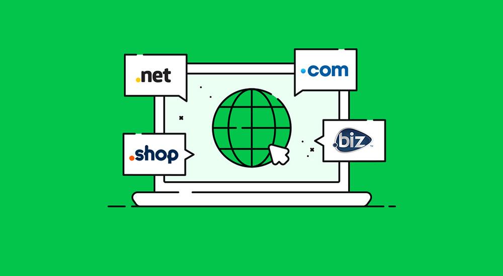 آیا دامنه وبسایت شما لزوما باید .com باشد؟