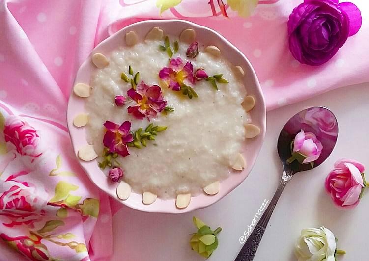 طرز تهیه شیر برنج خانگی خوشمزه و خوش عطر