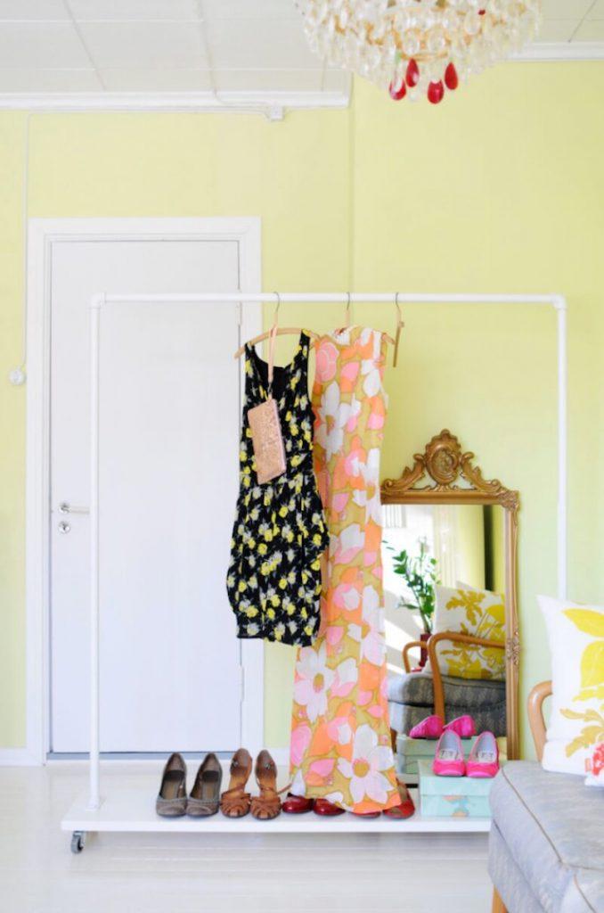 تمیزکاری سال نو - 5 ایدهی نظمدهی به لباسها