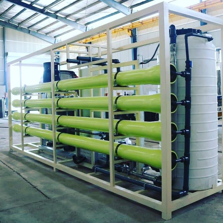 دستگاه آب تصفيه صنعتي به ظرفیت 500 متر مکعب در شبانه روز
