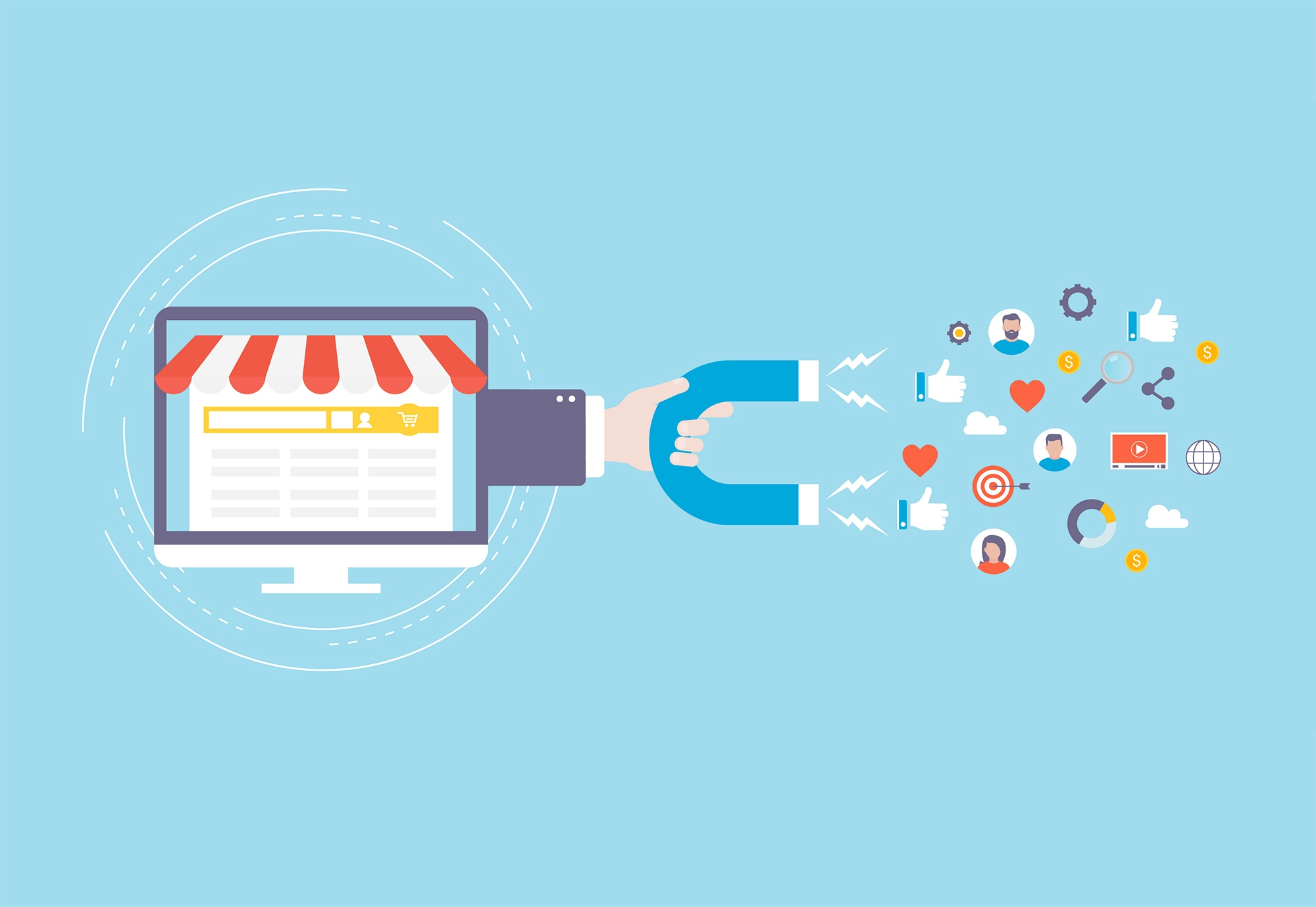 بازاریابی جاذبه ای چیست و چه مزایایی دارد؟