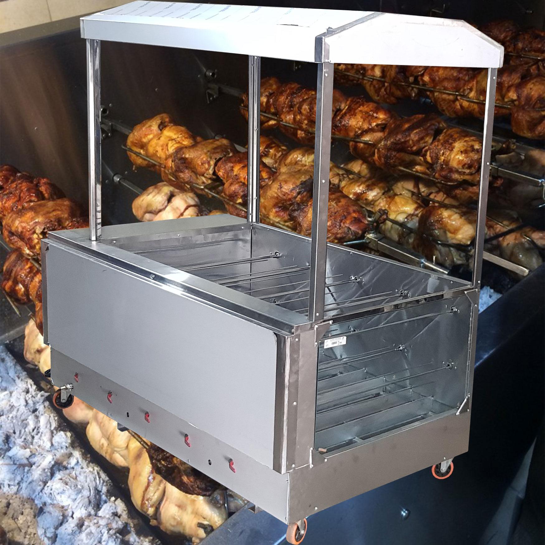 دستگاه مرغ بریان ذغالی چیست