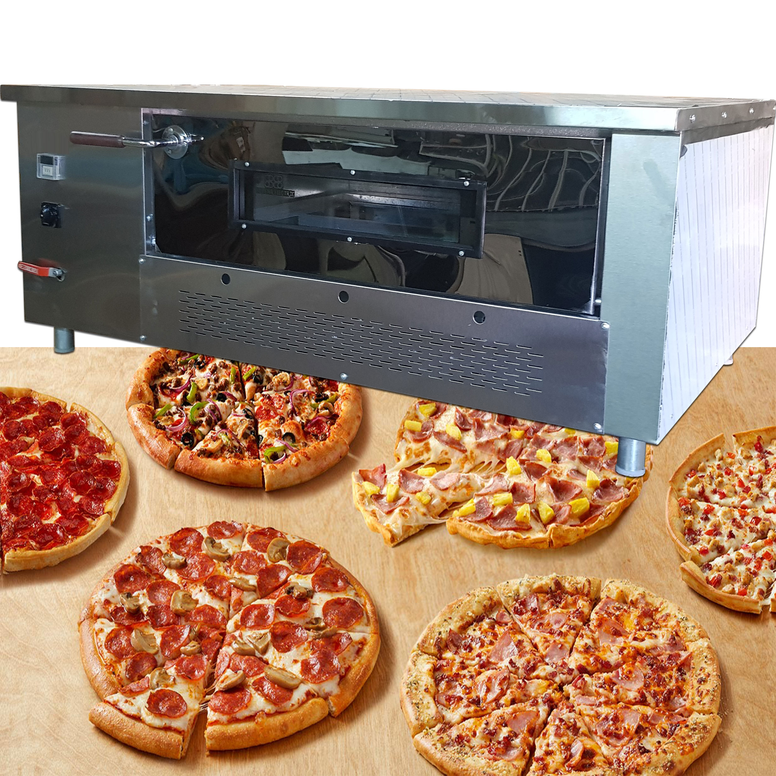 زمان پخت پیتزا در فر صندوقی