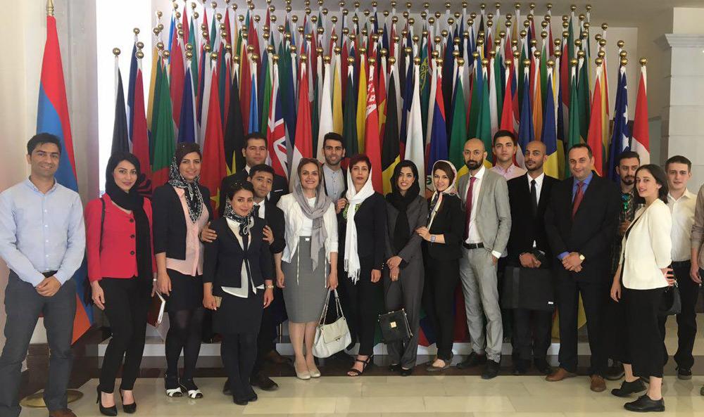 سالن مهمانهای وزارت امور خارجه ارمنستان