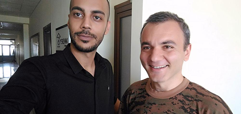واهان پوغوسیان (ایلان ماسک ارمنی) و من