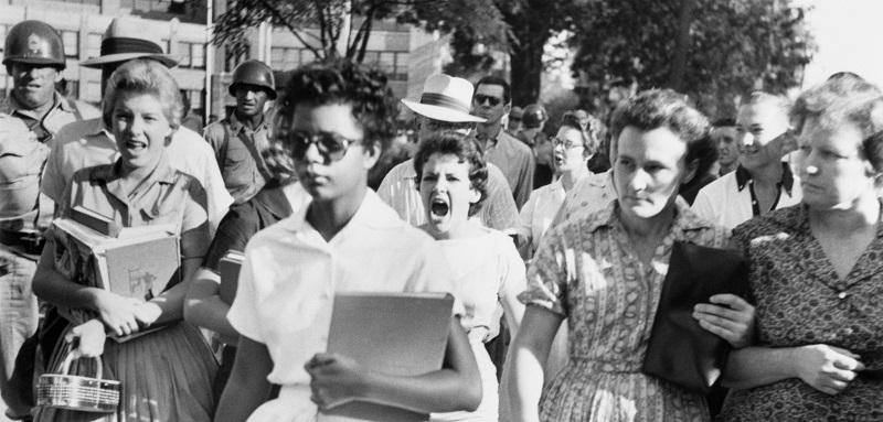 عکس سیاه و سفید ، زن سفید و سیاه