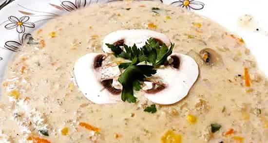 روش تهیه سوپ شیر