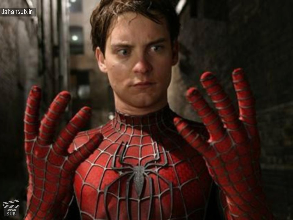 Tobey Maguire بازیگر شخصیت مرد عنکبوتی در سری اول