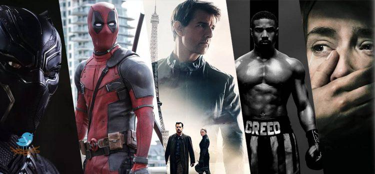 نگاهی به 5 فیلم برتر سال 2018 از نظر مخاطبان