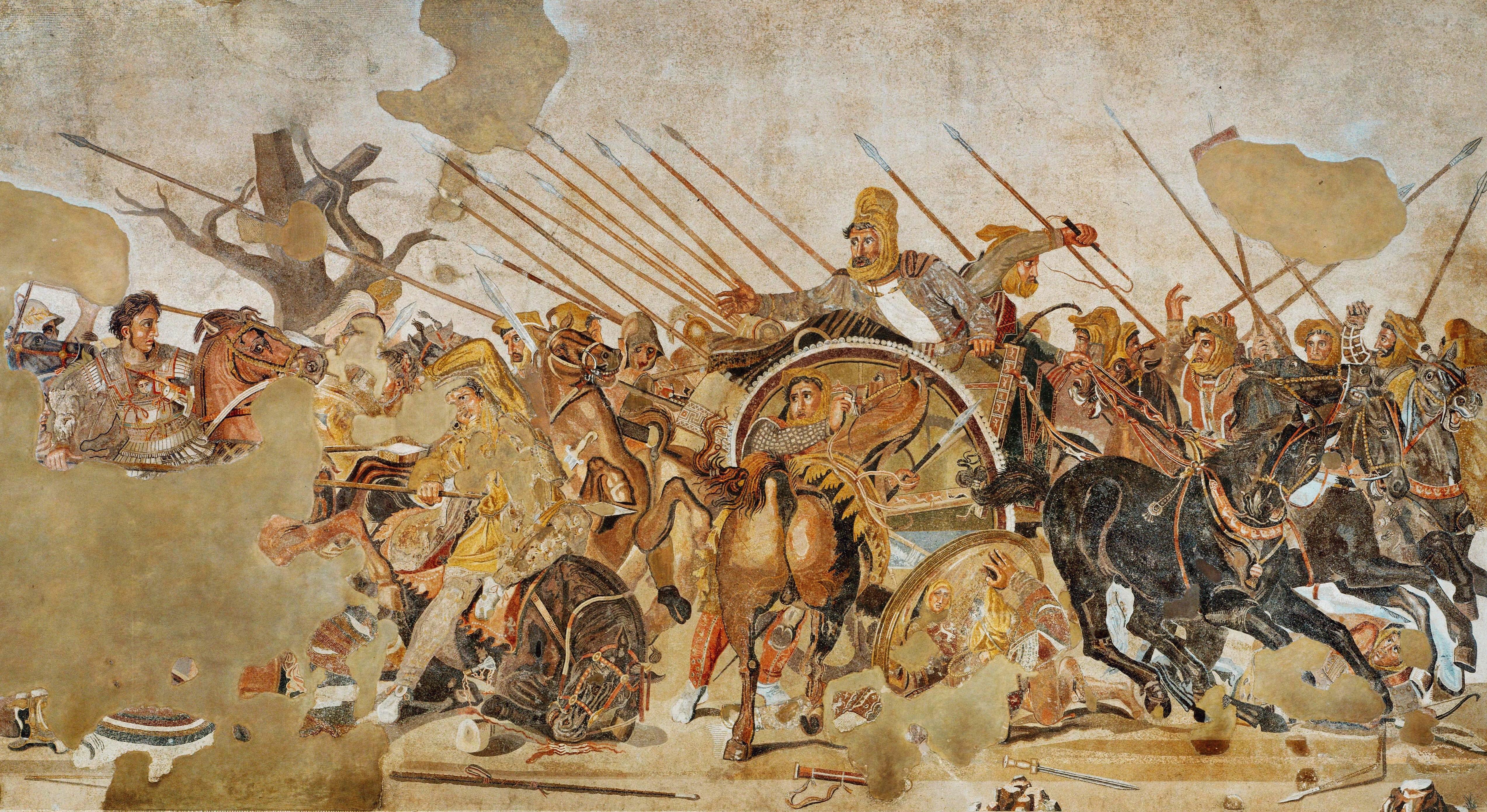 نبرد اسکندر و داریوش سوم