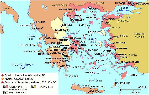 دولت شهرهای یونان