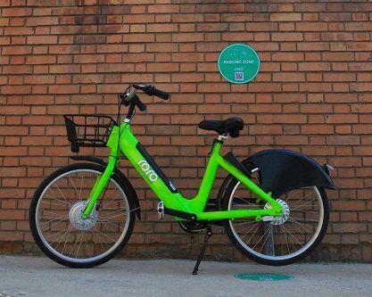 شکل 2: دوچرخه برقی رورو