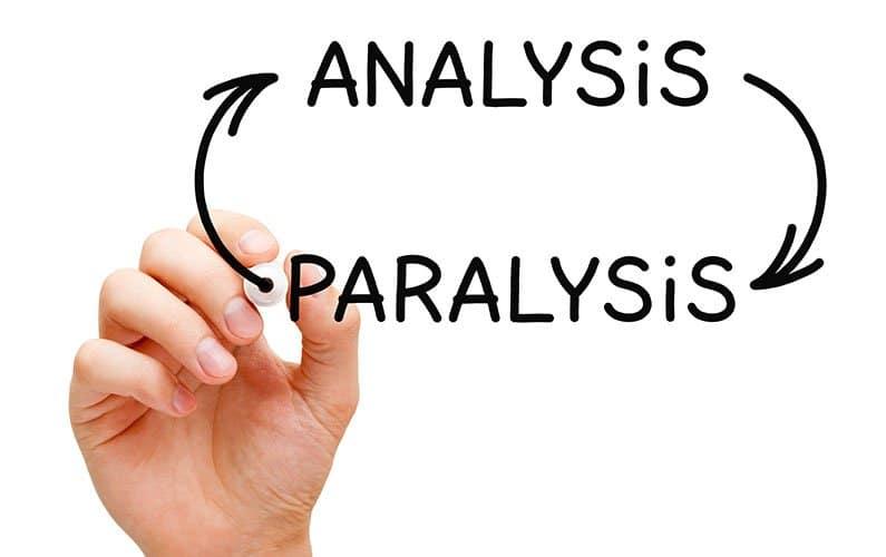 فلج تحلیلی (Analysis paralysis)