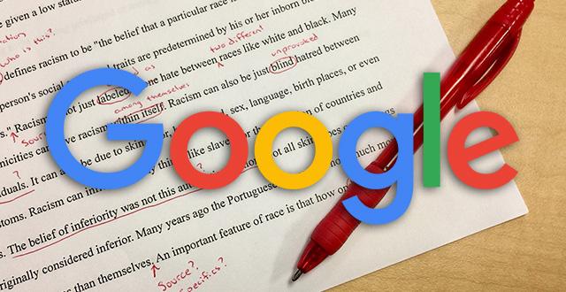 گوگل دیگر به اشتباهات گرامری و تایپی اهمیت نمی دهد