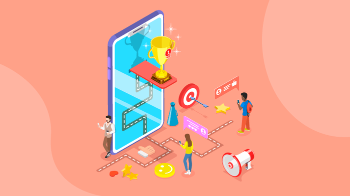 """بهبود طراحی تجربه کاربری و تعامل بیشتر کاربران با استفاده از """"گیمیفیکیشن"""""""