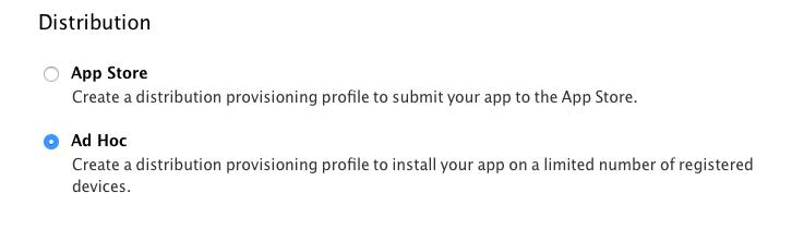 انتشار اپلیکیشن به روش اد-هوک برای استفاده تعداد حداکثر 100 نفر با هر اکانت