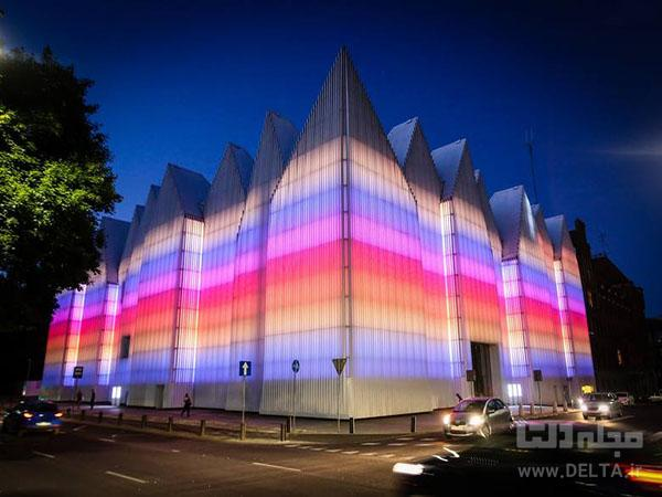 فیلارمونیک لهستان ، پاسخی به معماری سنتی