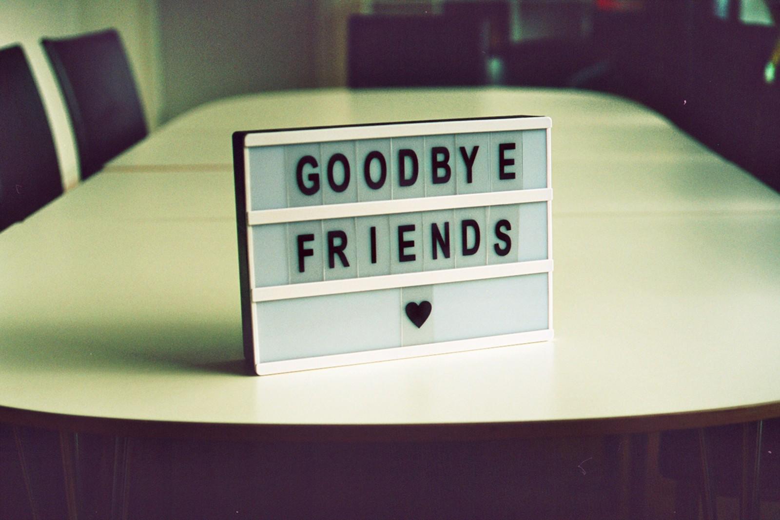 یک خداحافظی ماندگار