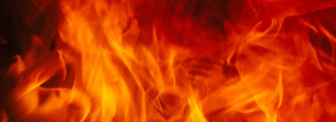 قیصریه ای که برای یک دستمال به آتش کشیده می شود