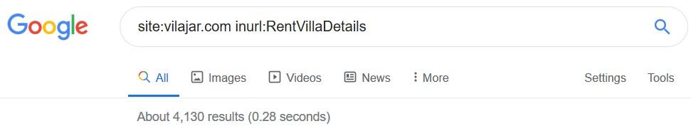 تعداد اقامتگاه های سایت ویلاجار