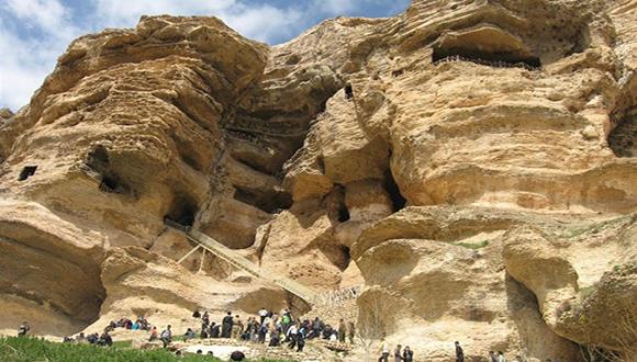 غار کرفتو ، معبد هراکلس