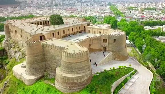 لرستان و قلعه فلک الافلاک