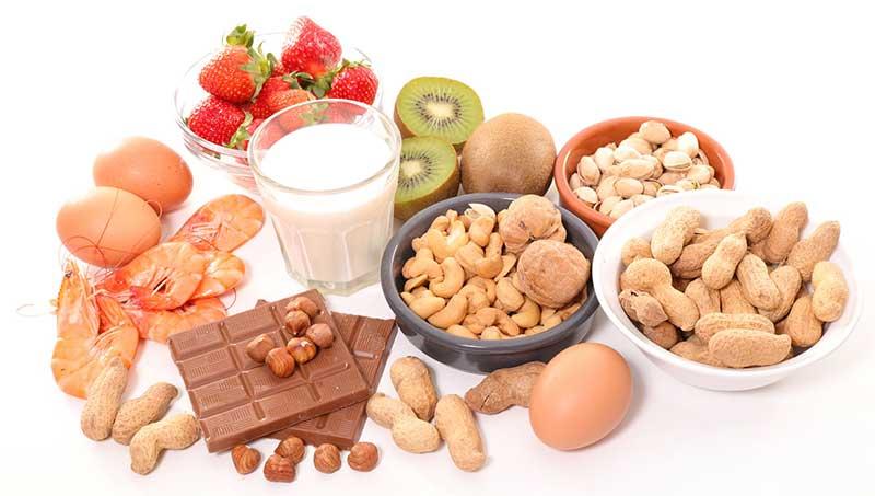 آلرژی به محیط و مواد غذایی