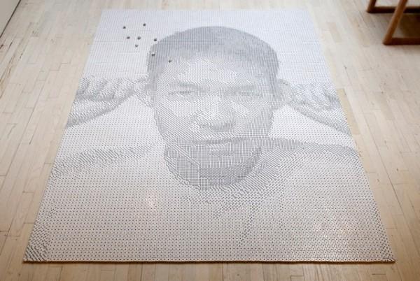 درک برنامه نویسی: تبدیل یک عکس به الگوی تصویری که با تاس ساخته خواهد شد
