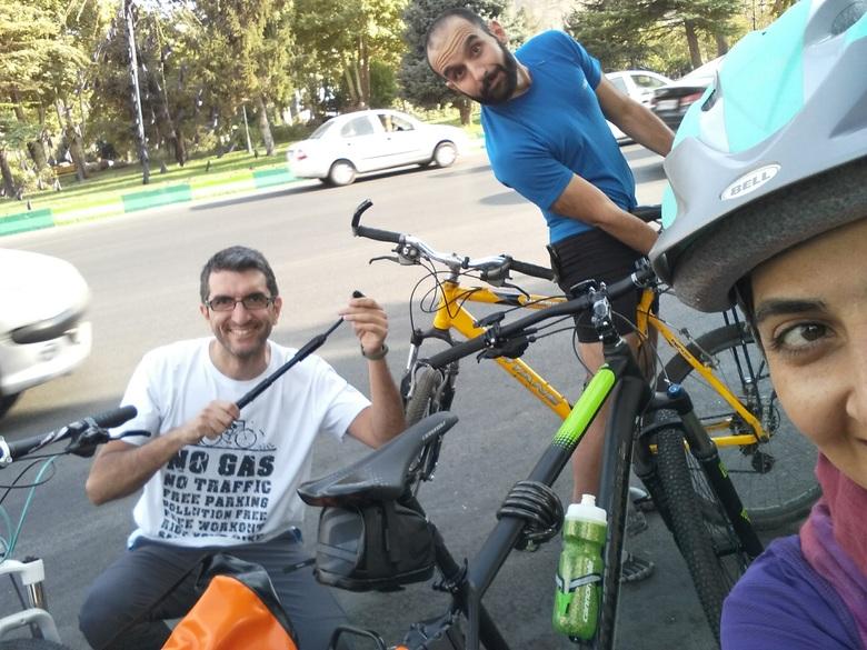 خاطرات من و سام رجبی، از دی اند دی تا دوچرخه سواری
