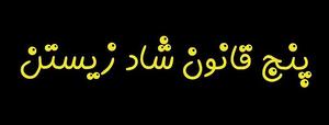 «شاد زیستن» 