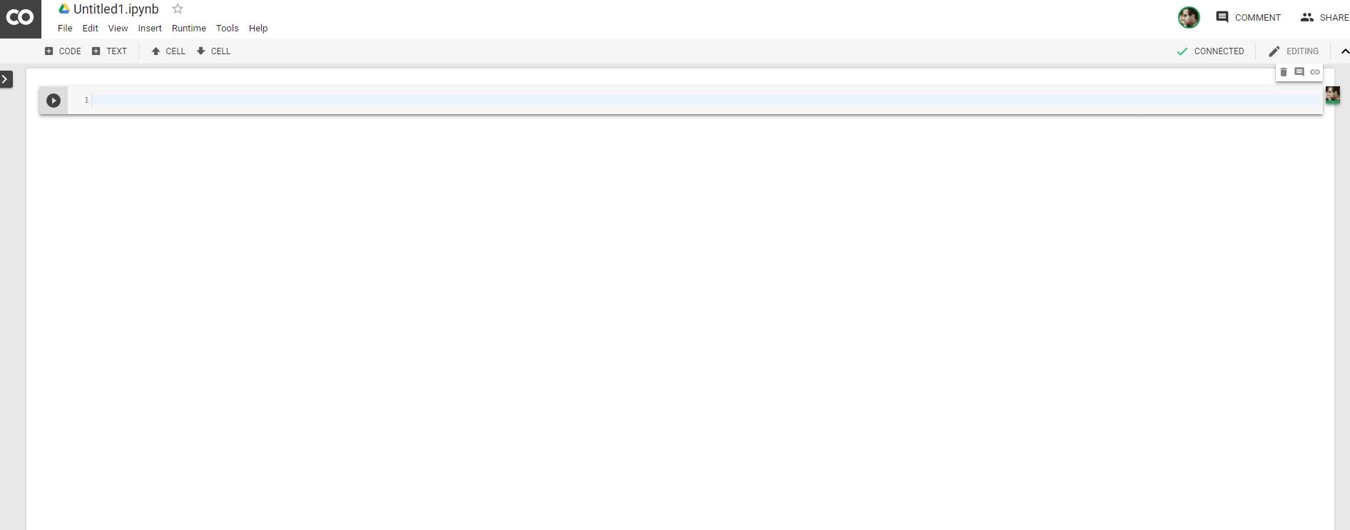 محیط گوگل کُلب