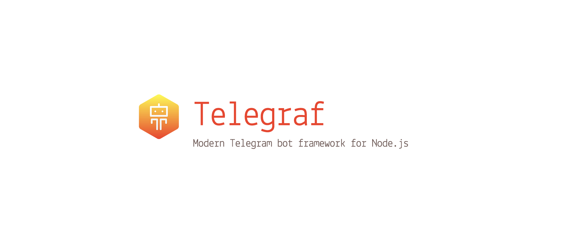 $ npm install telegraf --save