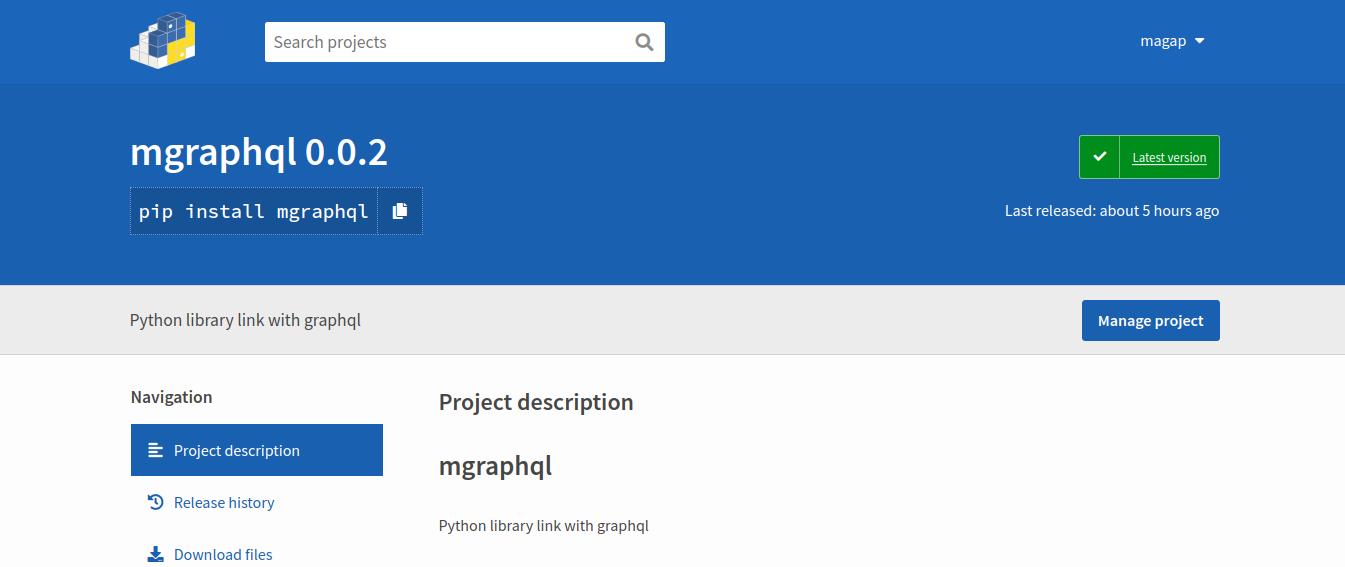 کتابخانه برای کوئری زدن به graphql از طریق کلاینت پایتون