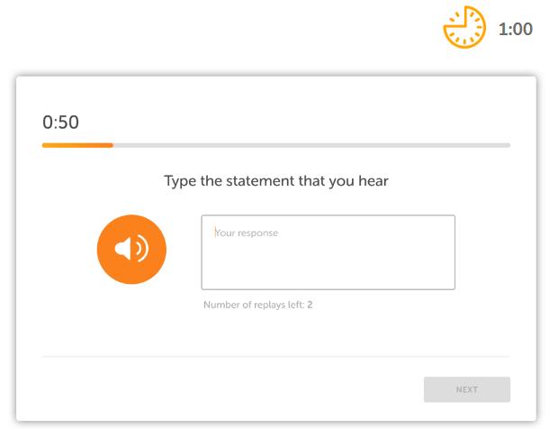 شکل شماره 4 : Listen and Type
