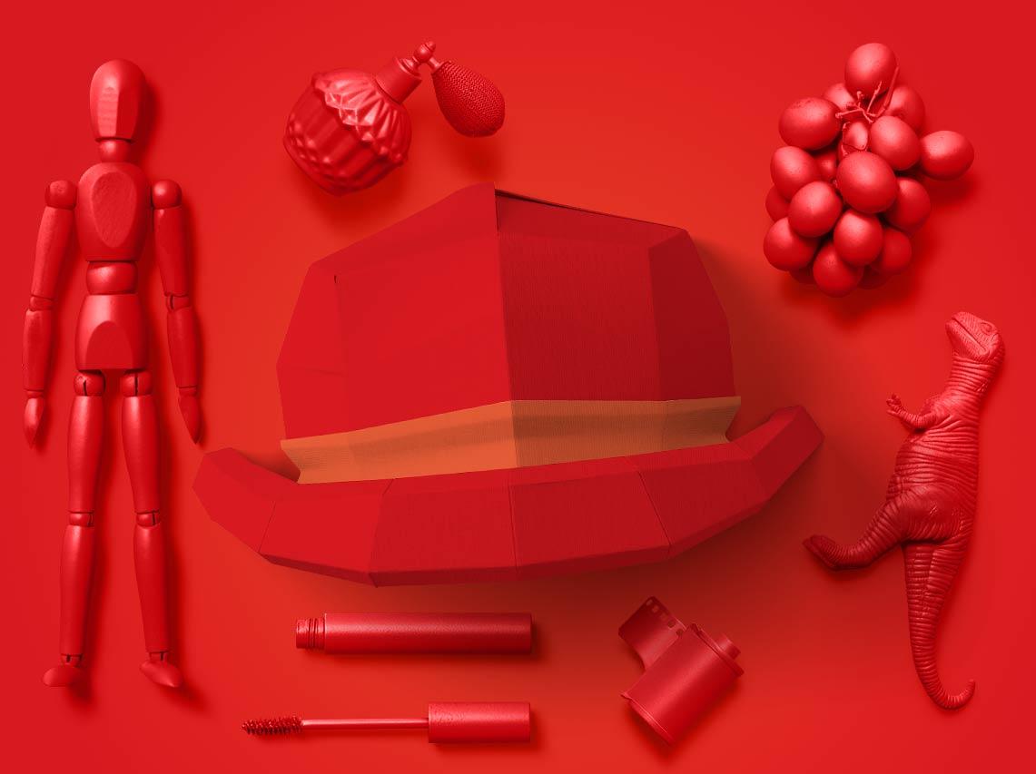 کلاه قرمز - کلاه عواطف و احساسات
