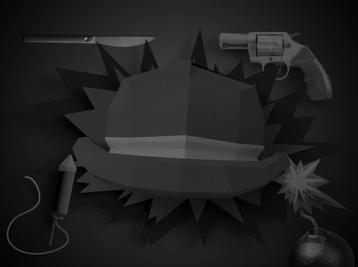 6کلاه فکری: کلاه سیاه