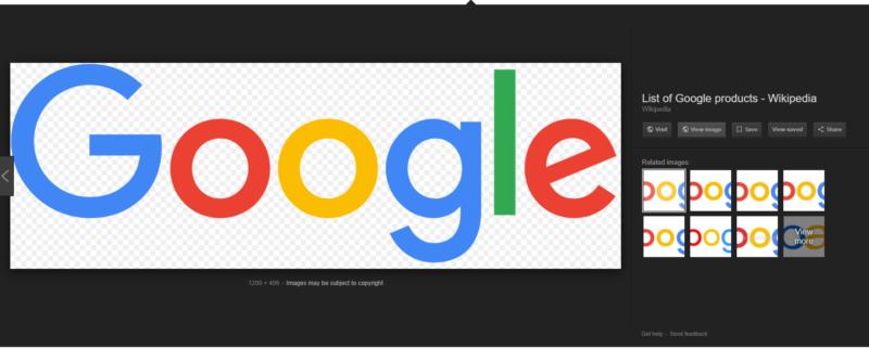 برگرداندن دکمه View Image به جستجوی عکس گوگل