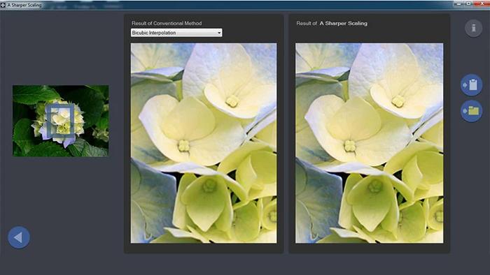 معرفی A Sharper Scaling، برنامهای برای بالا بردن رزولوشن تصویر