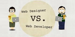 فرق طراح وب با توسعه دهنده وب(برنامه نویس وب)