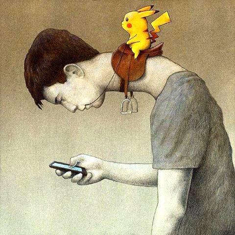 استفاده بیش از حد از تبلت و تلفنهای هوشمند باعث تغییر در آناتومی بدن میشود.