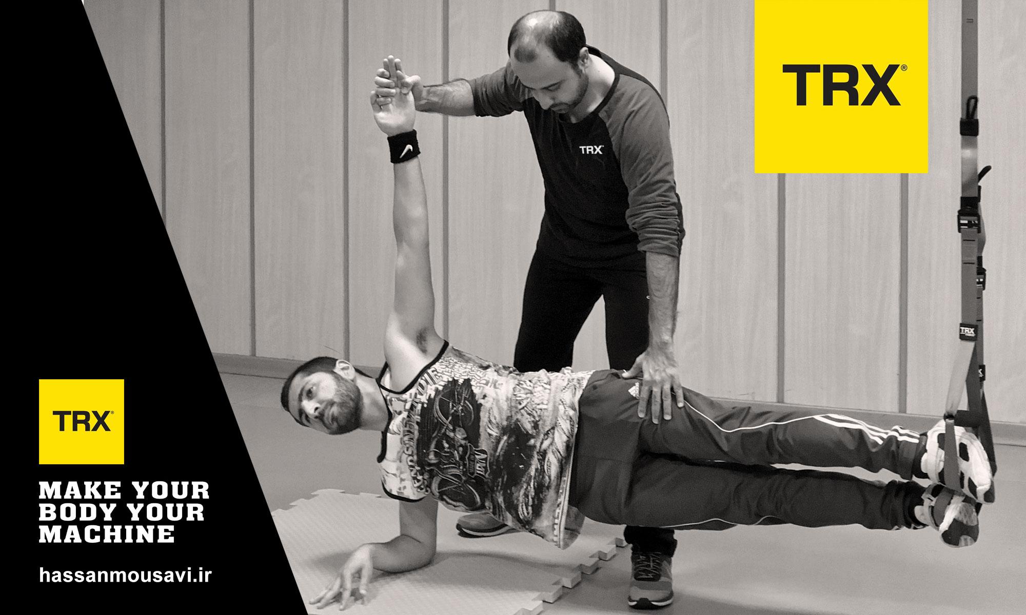 تمرینات معلق باعث توسعه قدرت، تعادل، انعطاف پذیری، افزایش دامنه حرکتی و ثبات مفصلی است.