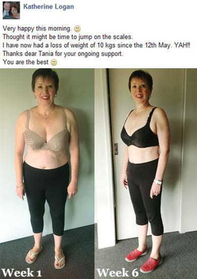تاثیر شش هفته تمرین پیلاتس بر روی بدن کاترین که به علت سالهای متمادی فعالیت پرستاری هیچ نوع ورزشی انجام نداده است.