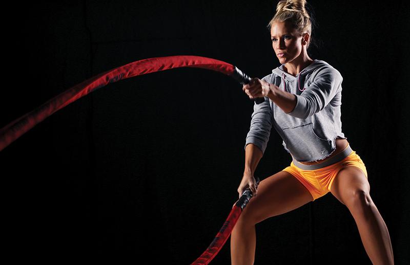 تمرینات با شدت بالا با طنابهای جنگی، ظرفیت هوازی و بیهوازی شما را پس از چهار هفته بهبود بخشیده و متحول کند.
